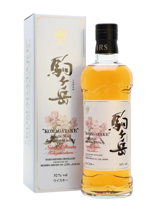 Mars Komagatake Kohiganzakura 2013 / Nature Of Shinshu Japanese Whisky