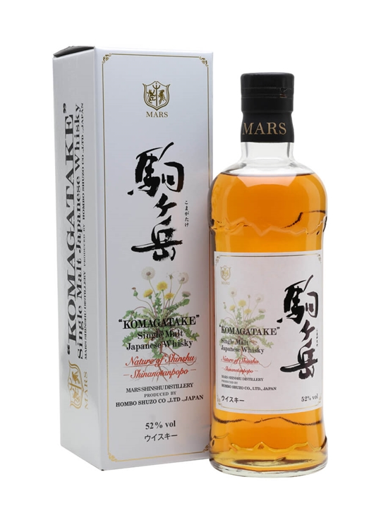 Mars Komagatake Shinanotanpopo / Nature of Shinshu Japanese Whisky