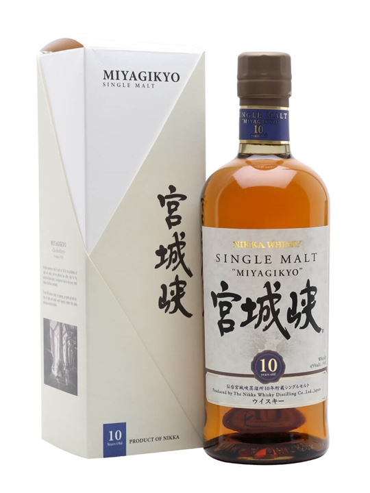 Nikka Miyagikyo 10 Year Old Japanese Single Malt Whisky