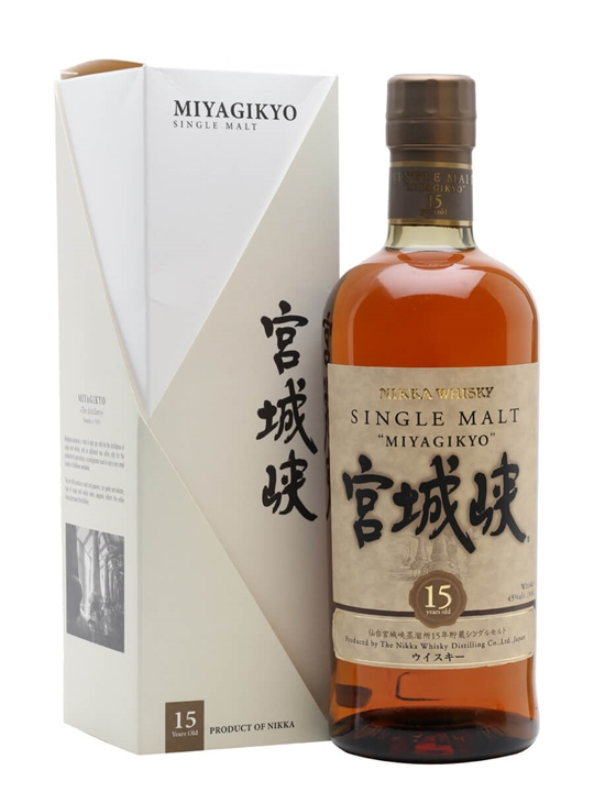 Nikka Miyagikyo 15 Year Old Japanese Single Malt Whisky