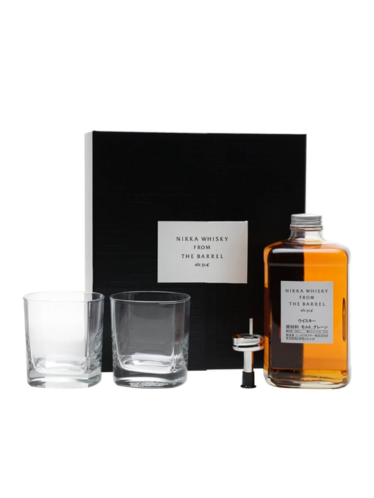 Nikka From The Barrel Pourer + 2 Glasses Pack Japanese Blended Whisky