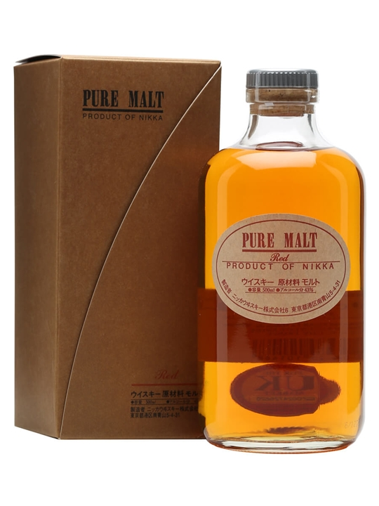 Nikka Pure Malt Red Japanese Blended Malt Whisky