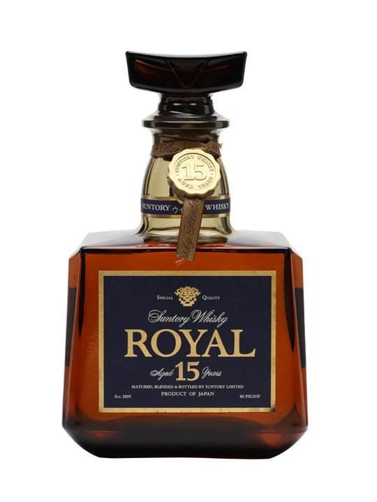 Suntory Royal 15 Year Old Whisky / Bot.1980s Japanese Blended Whisky