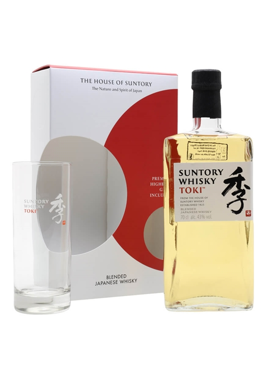 Suntory Toki / Glass Pack Japanese Blended Whisky