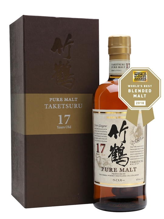 Nikka Taketsuru 17 Year Old Japanese Blended Malt Whisky