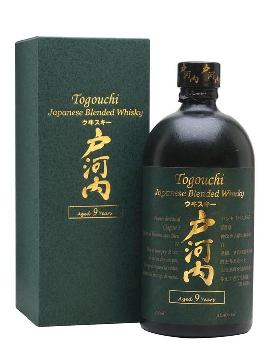 Togouchi 9 Year Old Japanese Blended Whisky
