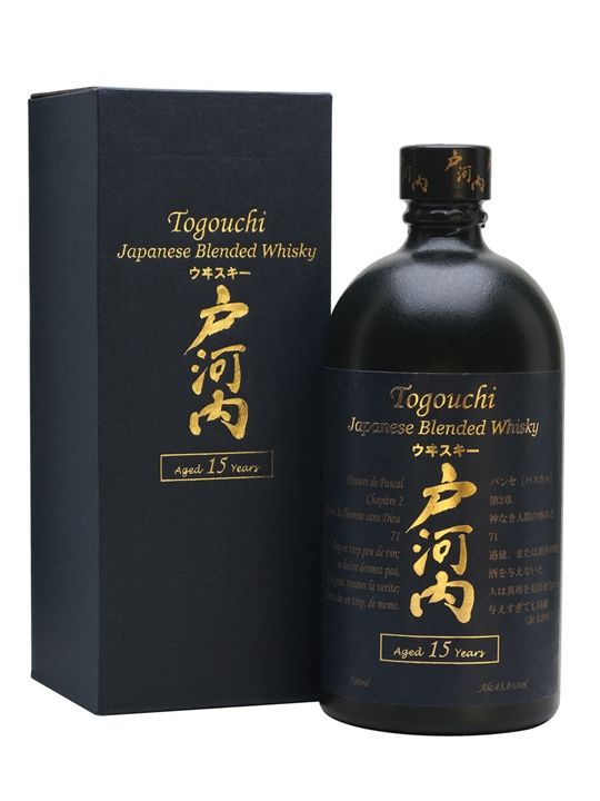Togouchi 15 Year Old Japanese Blended Whisky