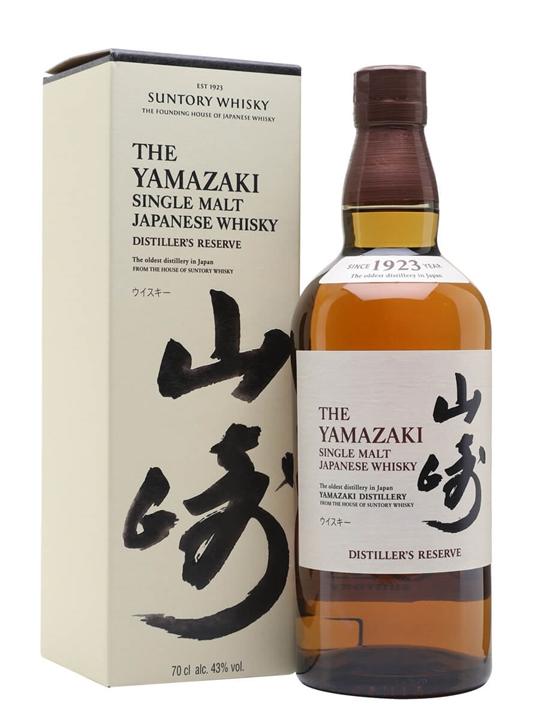 Suntory Yamazaki Distiller's Reserve Japanese Single Malt Whisky