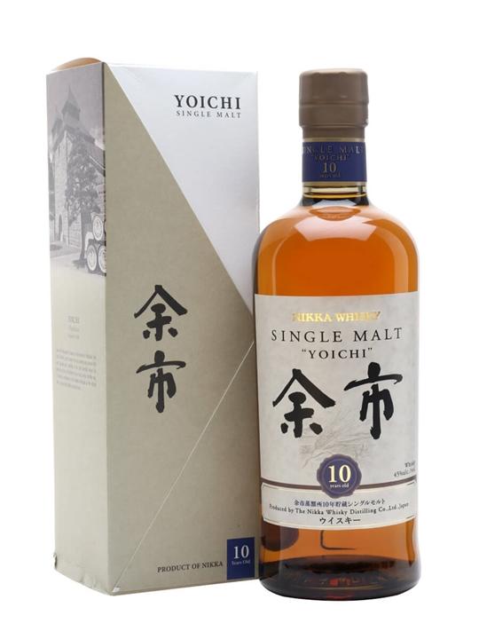 Nikka Yoichi 10 Year Old Japanese Single Malt Whisky