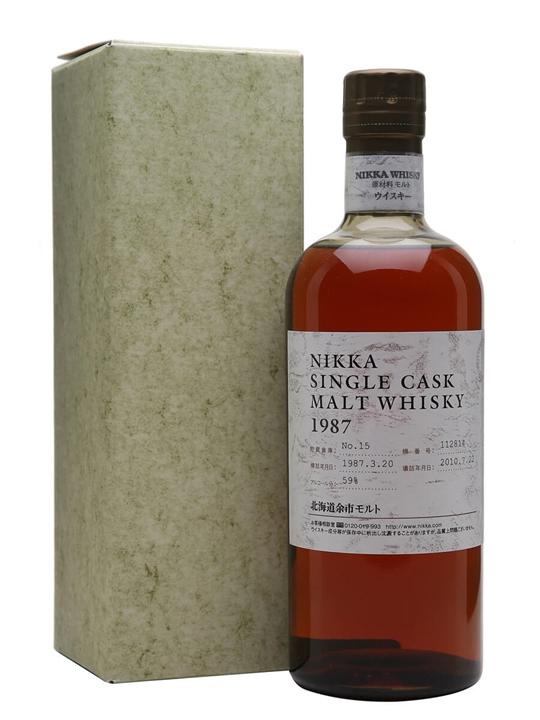 Nikka Yoichi 1987 / 23 Year Old / Cask #112814 Japanese Whisky