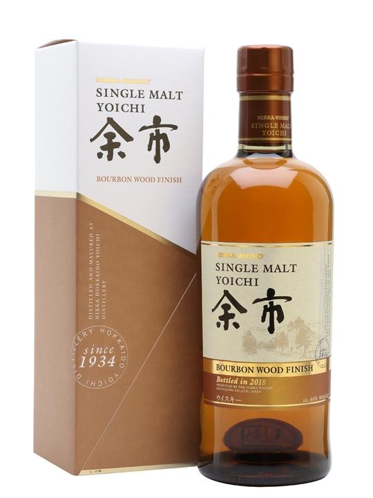 Nikka Yoichi Bourbon Wood Finish Japanese Single Malt Whisky