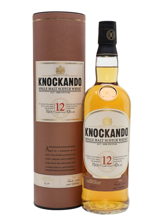 Knockando 12 Year Old Speyside Single Malt Scotch Whisky
