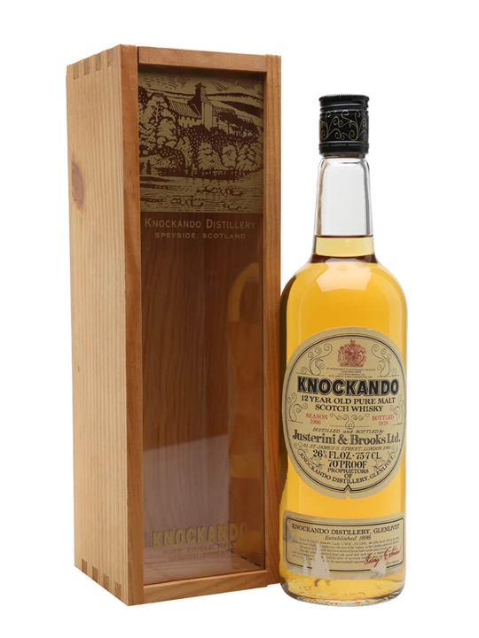 Knockando 1966 / Bot.1978 Speyside Single Malt Scotch Whisky