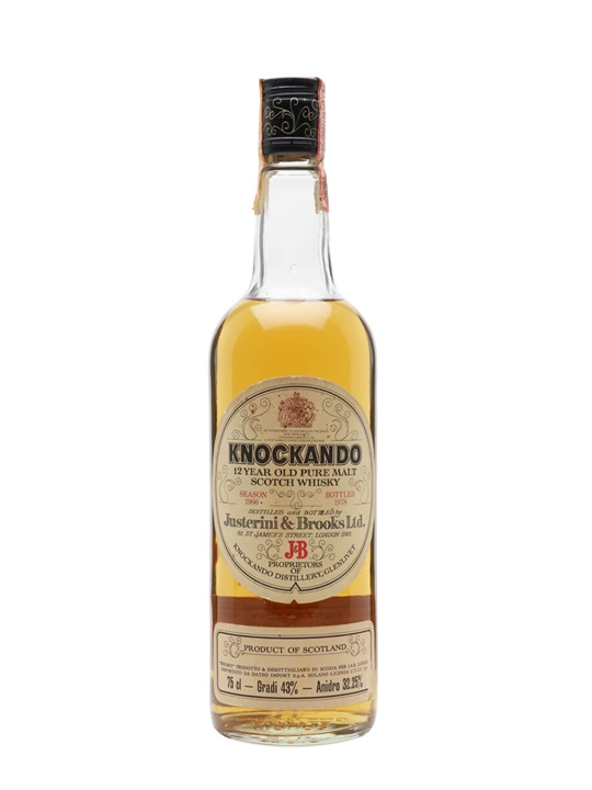 Knockando 1966 / 12 Year Old / Bot.1978 Speyside Whisky