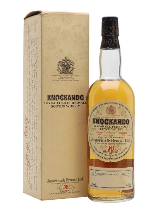 Knockando 1967 / Bot.1979 Speyside Single Malt Scotch Whisky