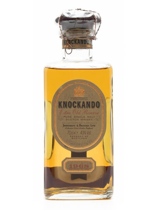 Knockando 1968 Extra Old Reserve Speyside Single Malt Scotch Whisky