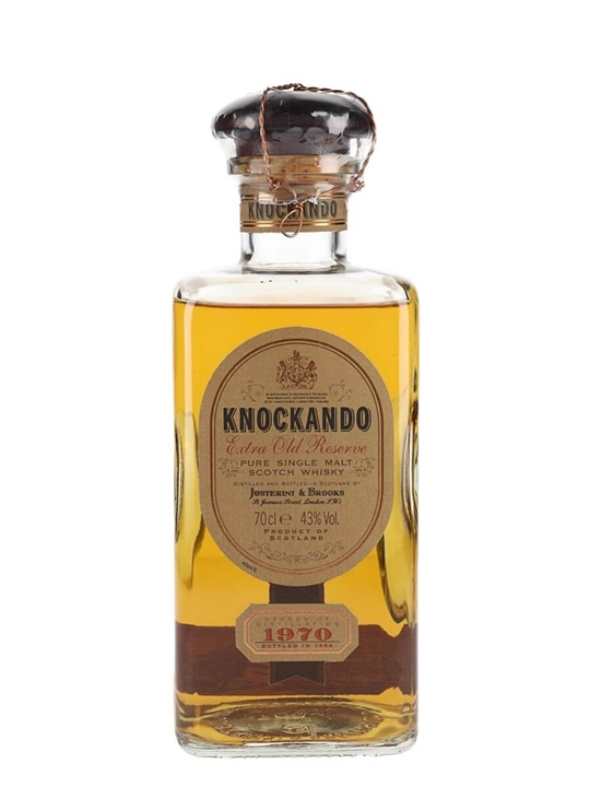 Knockando 1970 Extra Old Reserve / Bot.1994 Speyside Whisky