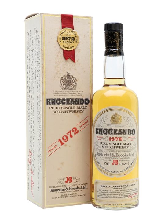 Knockando 1972 / Bot.1985 Speyside Single Malt Scotch Whisky