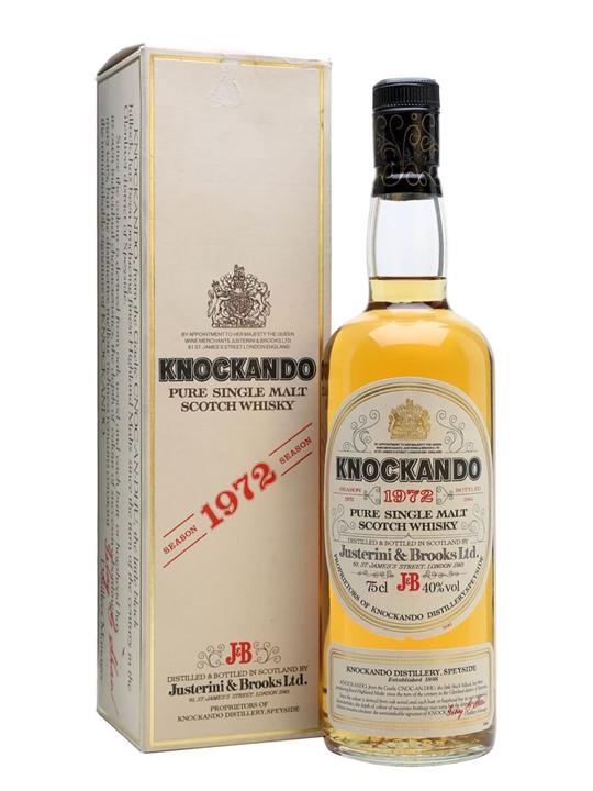 Knockando 1972 / Bot.1984 Speyside Single Malt Scotch Whisky