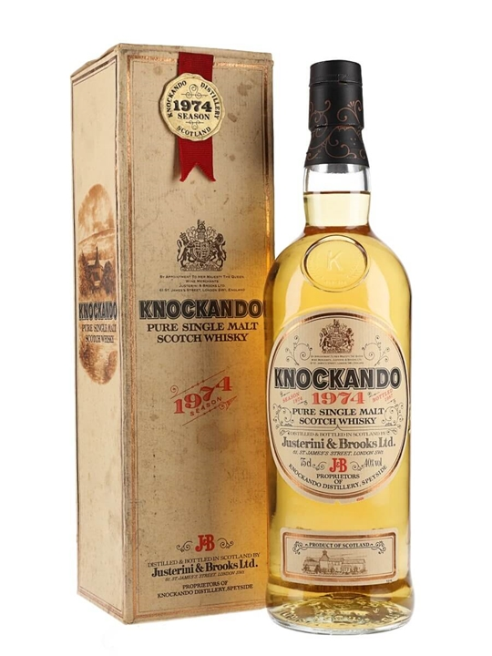 Knockando 1974 / Bot.1987 Speyside Single Malt Scotch Whisky