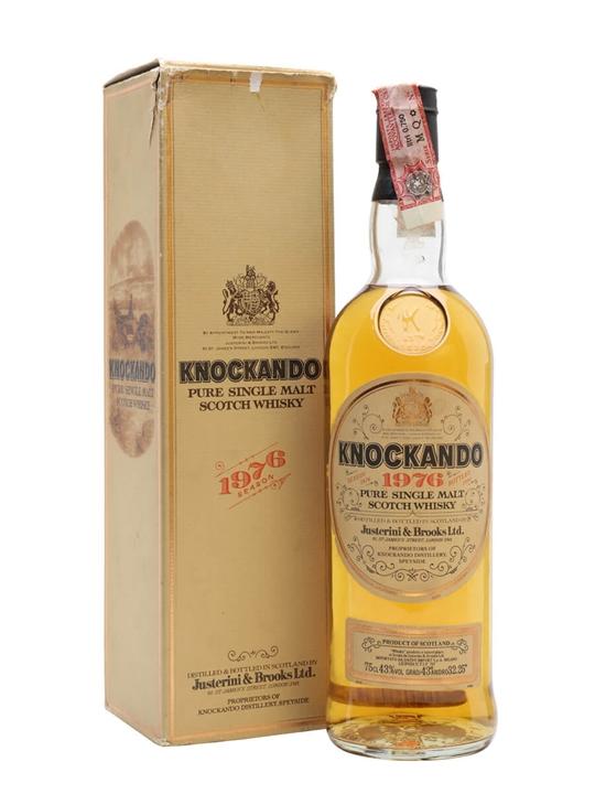 Knockando 1976 / Bot.1990 Speyside Single Malt Scotch Whisky
