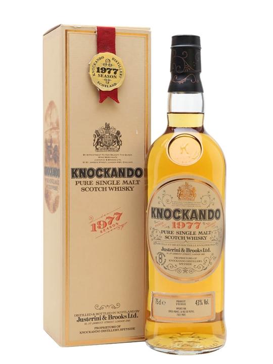 Knockando 1977 / Bot.1991 Speyside Single Malt Scotch Whisky