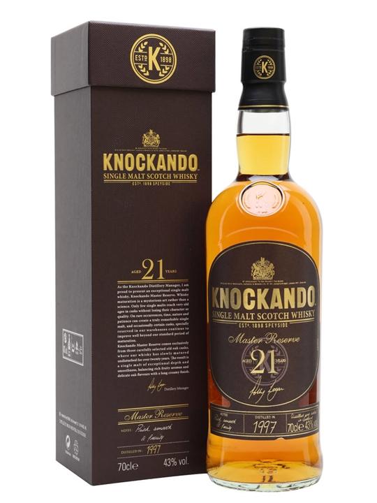 Knockando 1997 / 21 Year Old Master Reserve Speyside Whisky