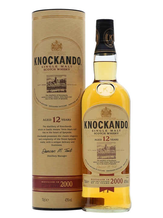 Knockando 2000 / 12 Year Old Speyside Single Malt Scotch Whisky