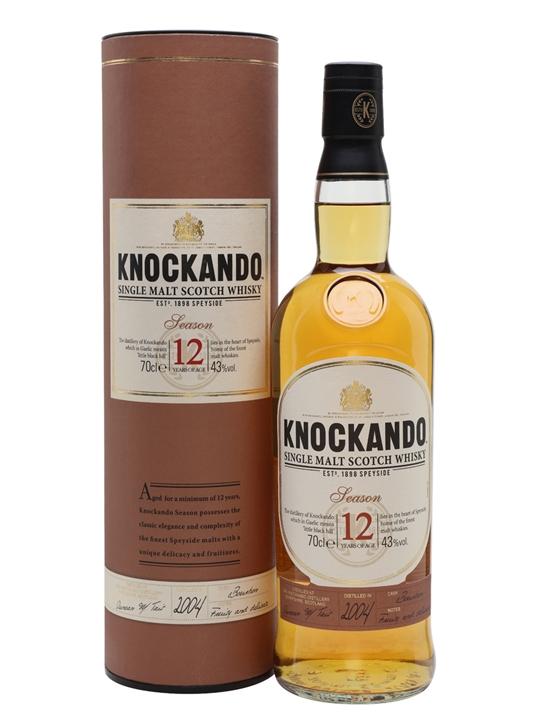 Knockando Season 2004 / 12 Year Old / Bourbon Cask Speyside Whisky