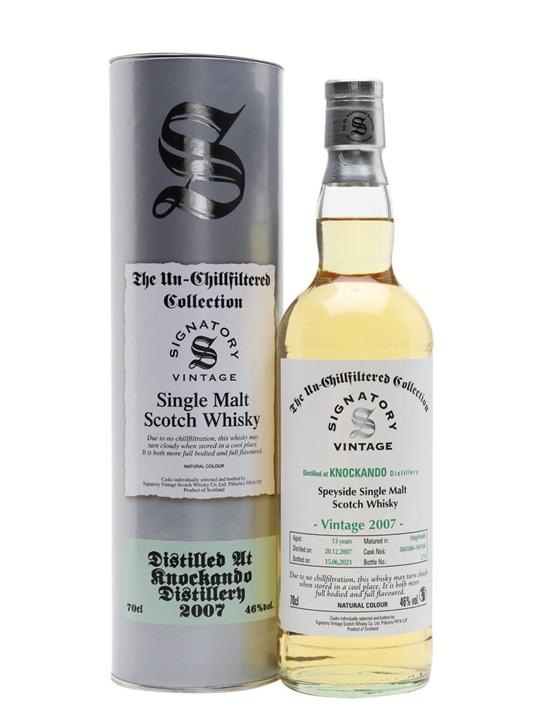 Knockando 2007 / 13 Year Old / Signatory Speyside Whisky