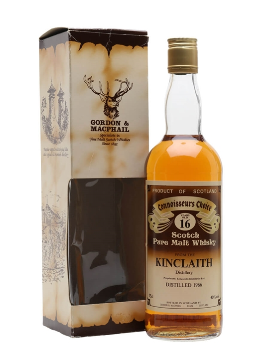Kinclaith 1966 / 16 Year Old / Connoisseurs Choice Lowland Whisky