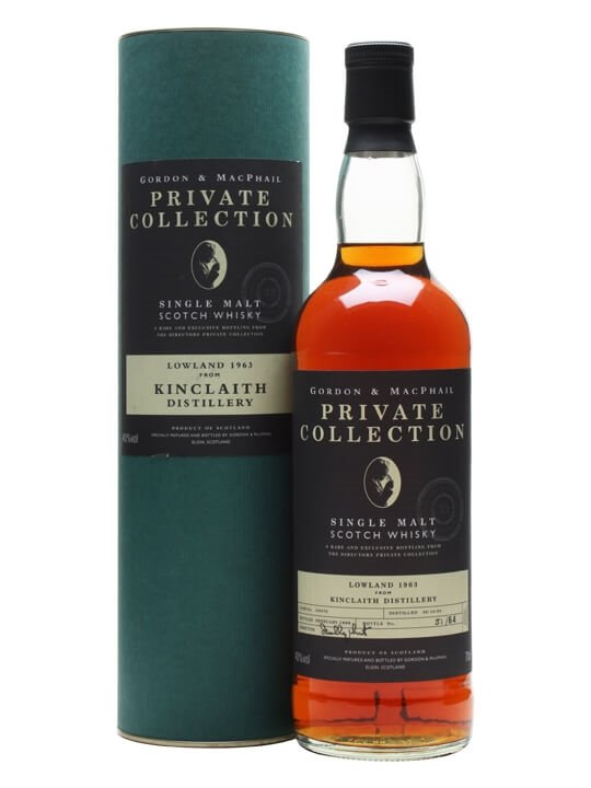 Kinclaith 1963 / Private Collection / Gordon & Macphail Lowland Whisky