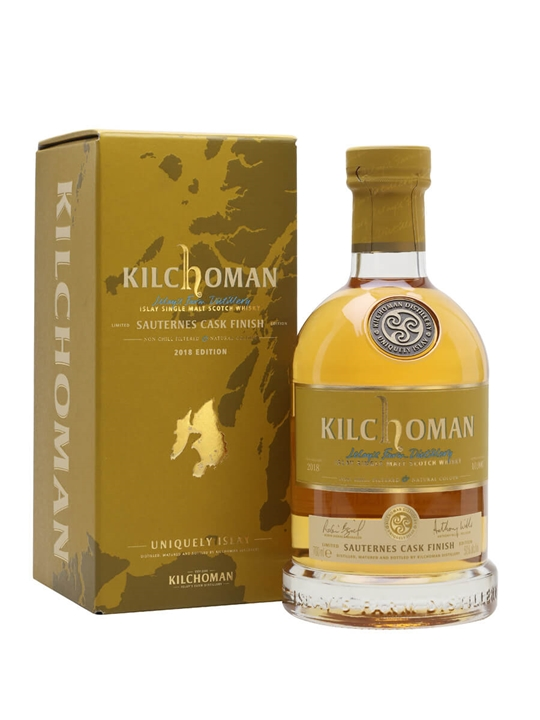 Kilchoman Sauternes Cask Finish 2012 / Bot.2018 Islay Whisky