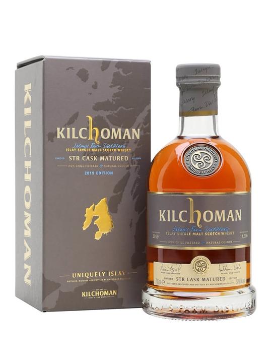 Kilchoman 2012 / STR Cask Matured / 2019 Edition Islay Whisky
