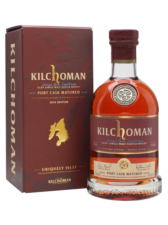 Kilchoman Port Cask Matured 2014 / 2nd Edition Islay Whisky