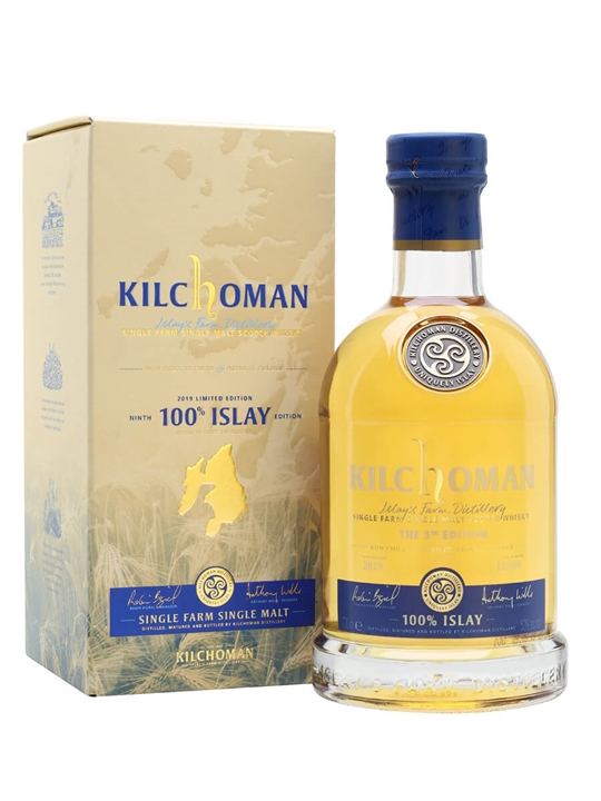 Kilchoman 100% Islay / Bot.2019 / 9th Edition Islay Whisky