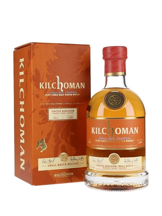 Kilchoman Uk Small Batch Islay Single Malt Scotch Whisky