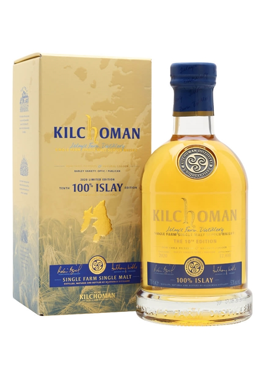 Kilchoman 100% Islay / Bot.2020 / 10th Edition Islay Whisky