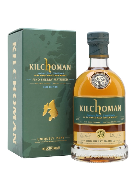 Kilchoman Fino Sherry Cask / Bot.2020 Islay Single Malt Scotch Whisky