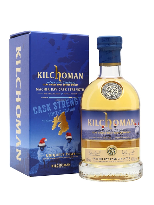 Kilchoman Machir Bay Cask Strength Islay Single Malt Scotch Whisky