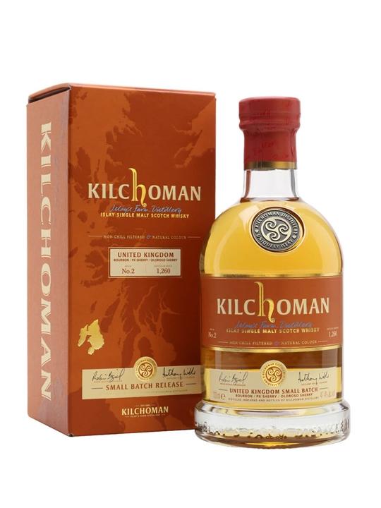 Kilchoman UK Small Batch / Batch 2 Islay Single Malt Scotch Whisky