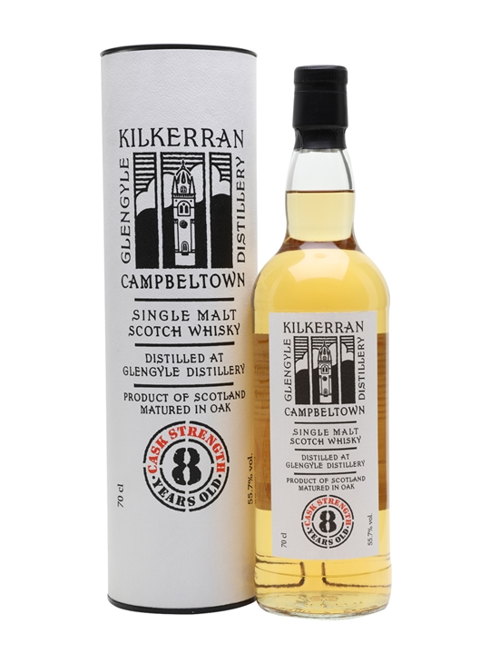 Kilkerran 8 Year Old Cask Strength Campbeltown Whisky