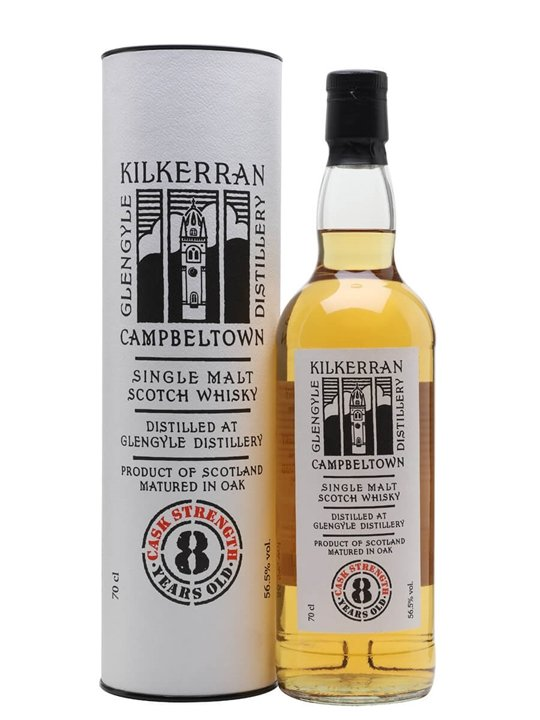 Kilkerran 8 Year Old Cask Strength (56.5%) Campbeltown Whisky