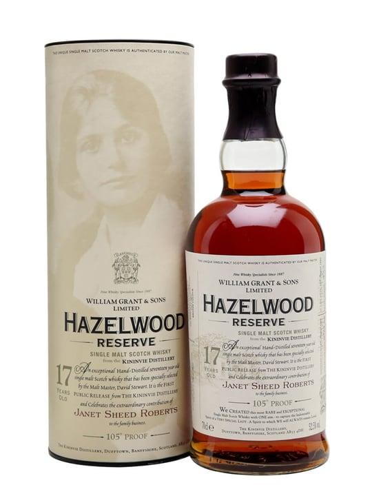 Hazelwood Reserve (Kininvie) 1990 / 17 Year Old Speyside Whisky