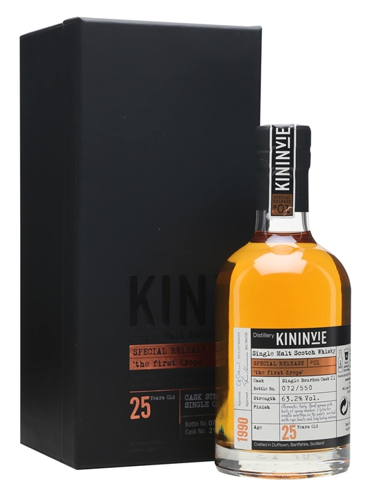 Kininvie 1990 The First Drops / 25 Year Old / Release #01 Speyside Whisky