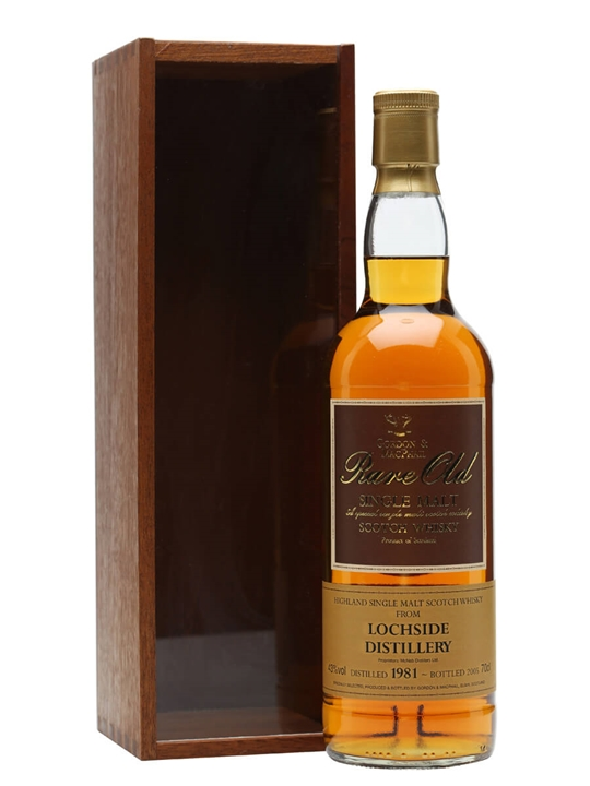 Lochside 1981 / Gordon & Macphail Highland Single Malt Scotch Whisky