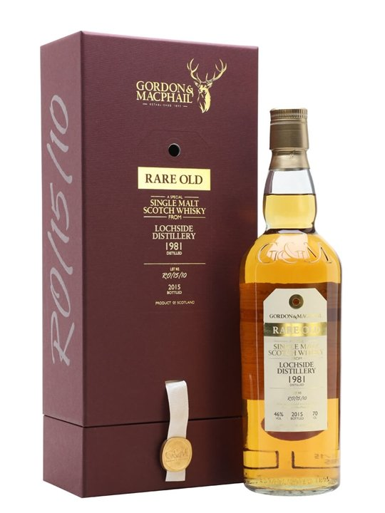 Lochside 1981 / 33 Year Old / Rare Old / Gordon & Macphail Highland Whisky