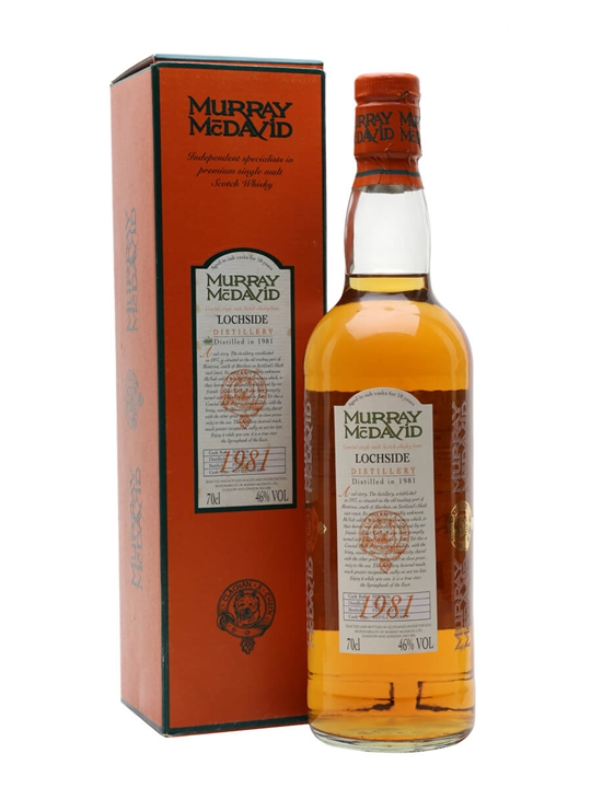 Lochside 1981 / 18 Year Old / Refill Sherry Highland Whisky