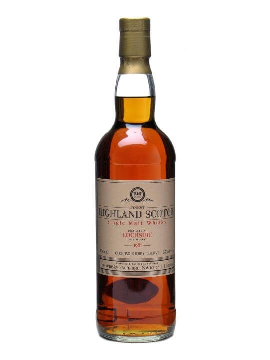 Lochside 1981 / Bot.2010 / Sherry Cask Highland Whisky