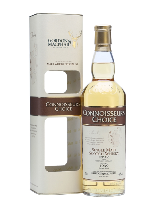 Ledaig 1999 / Bot.2015 / Connoisseurs Choice Island Whisky